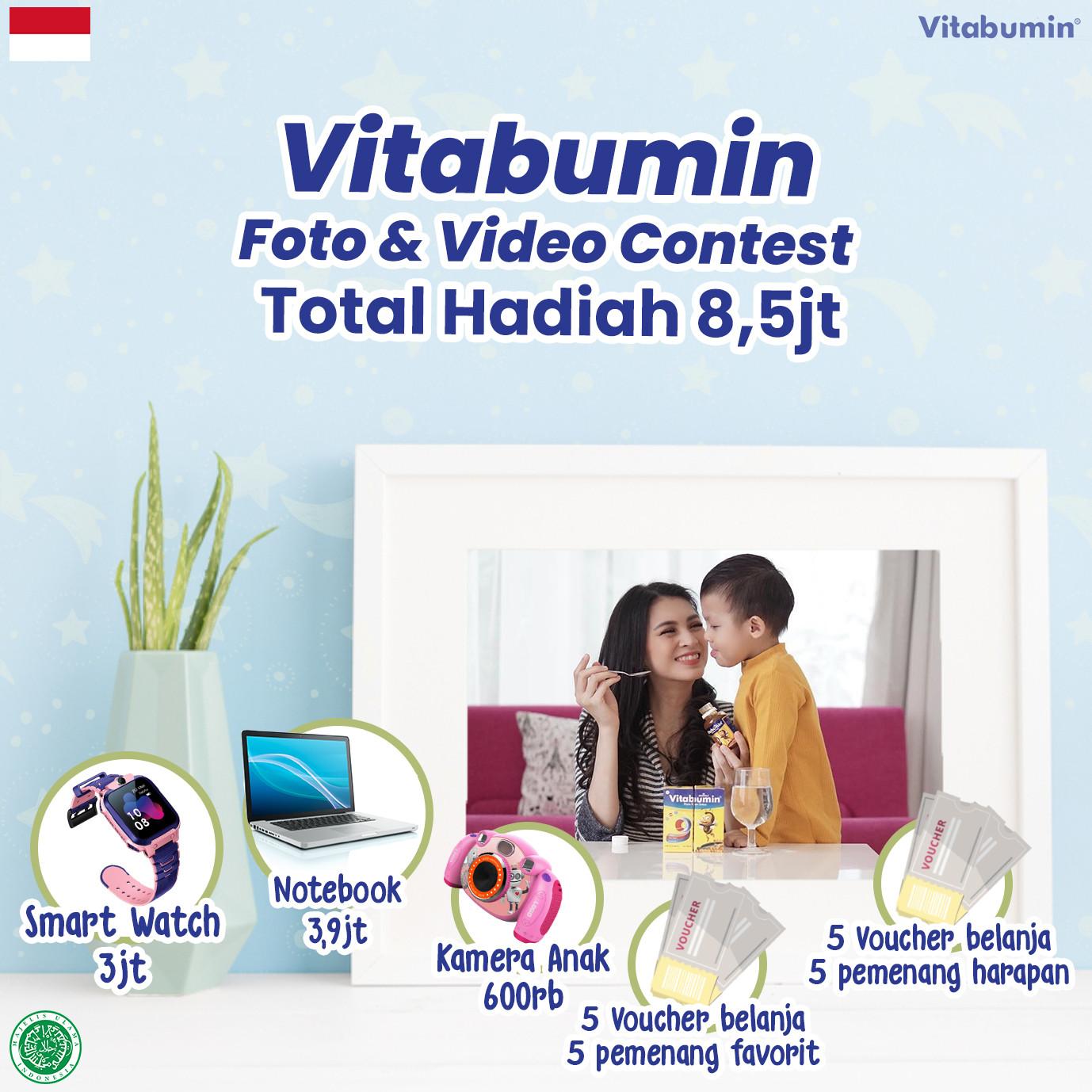 Vitabumin Foto & Video Contest #MerdekaDariStunting