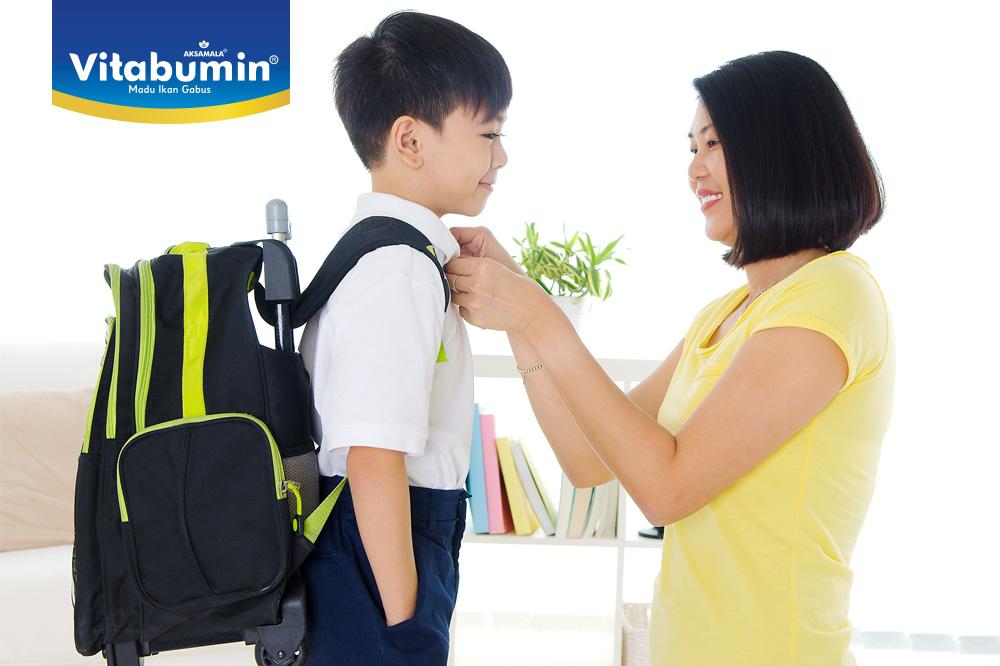 Adaptasi Si Kecil Dengan Sekolah Baru