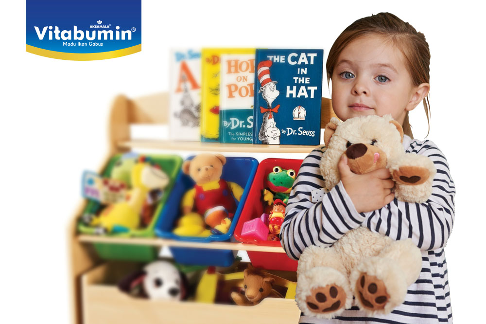 Mainan Si Kecil Yang Berantakan Kini Tak Lagi Membuat Bunda Pusing! Ayo Bantu Si Kecil Untuk Membersihan Mainannya!